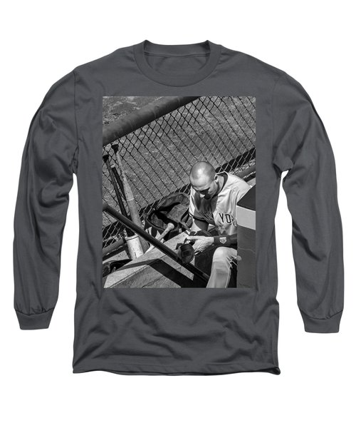 Moment Of Reflection Long Sleeve T-Shirt by Tom Gort