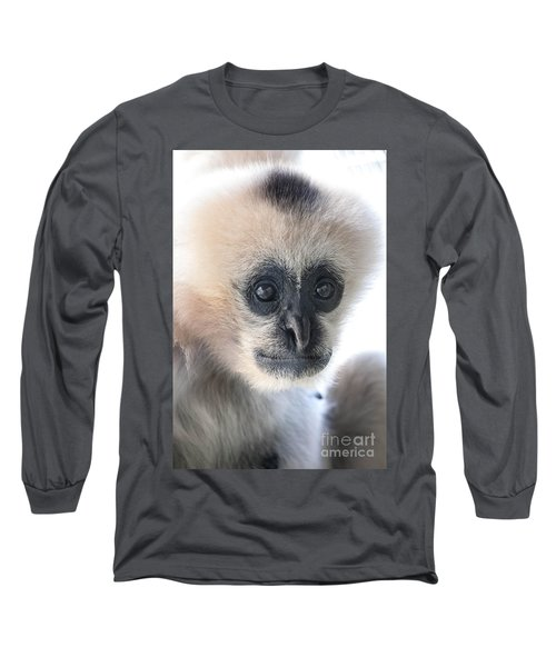 Monkey Face Long Sleeve T-Shirt by Ray Warren