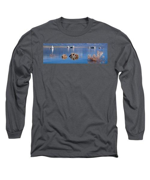 Mono Lake, Tufa Rock, Ca Long Sleeve T-Shirt