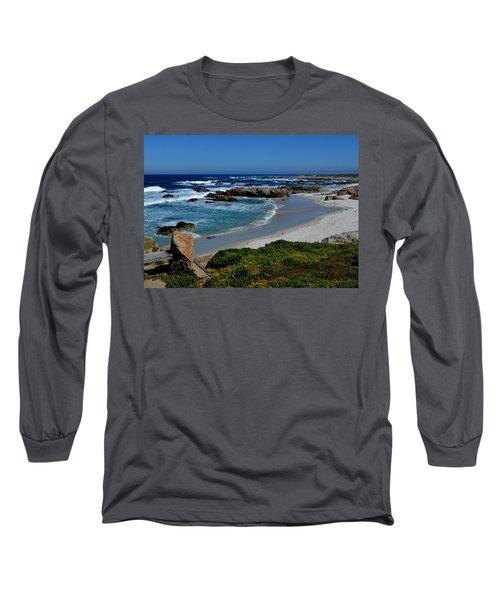 Long Sleeve T-Shirt featuring the photograph Monterey-1 by Dean Ferreira