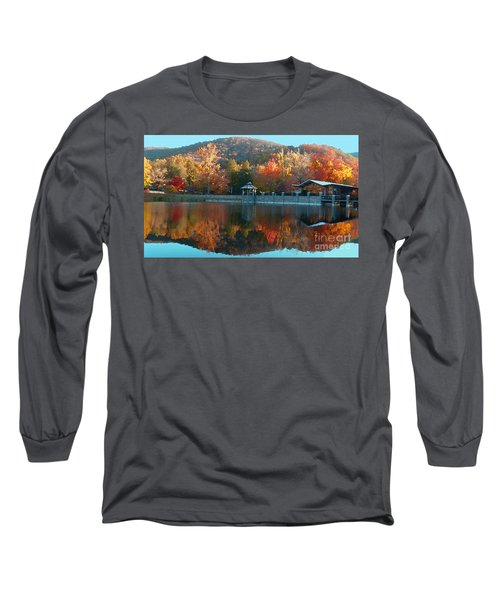 Montreat Autumn Long Sleeve T-Shirt by Lydia Holly