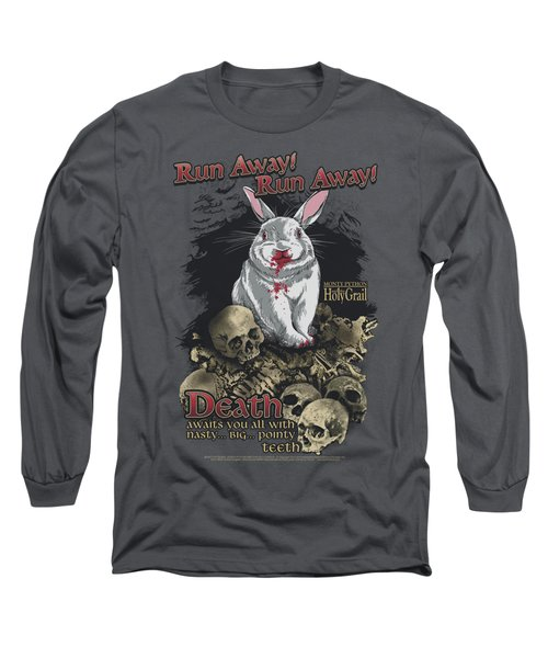 Monty Python - Run Away Long Sleeve T-Shirt by Brand A