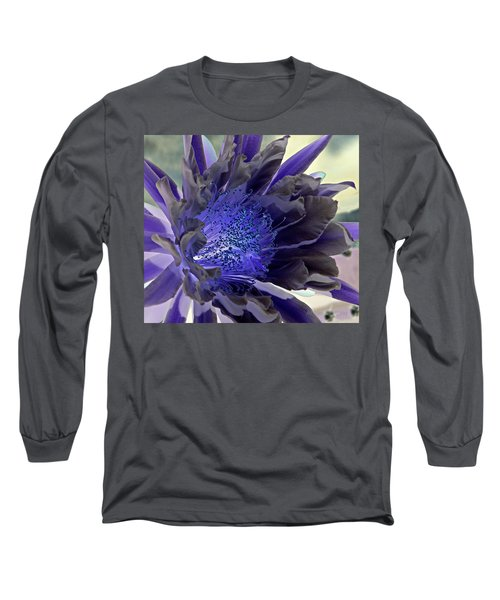 Long Sleeve T-Shirt featuring the photograph Moody Blues by Antonia Citrino