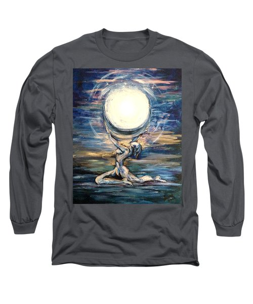 Moon Goddess Long Sleeve T-Shirt