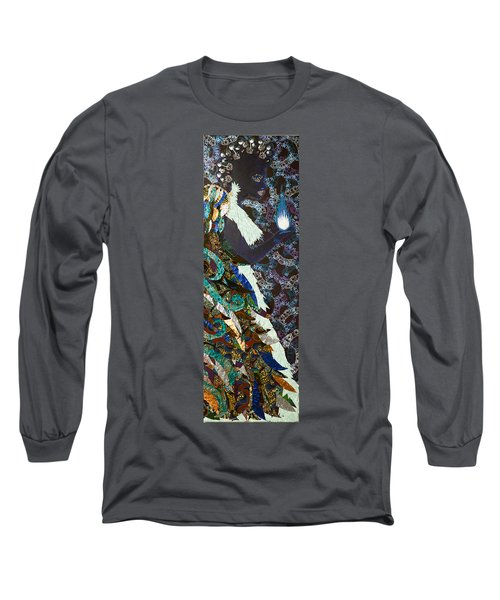 Moon Guardian - The Keeper Of The Universe Long Sleeve T-Shirt