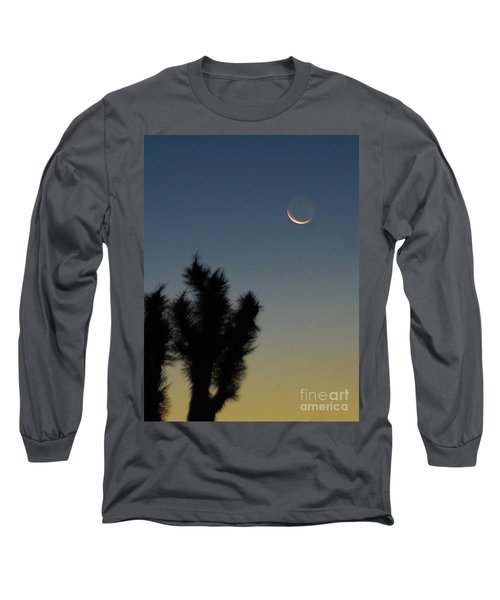 Long Sleeve T-Shirt featuring the photograph Moon Kissed by Angela J Wright