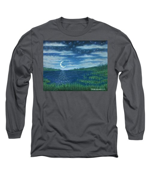 Moonlit Lagoon Long Sleeve T-Shirt