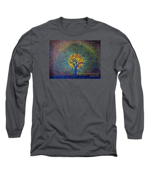 Moonshine Long Sleeve T-Shirt by Viktor Lazarev