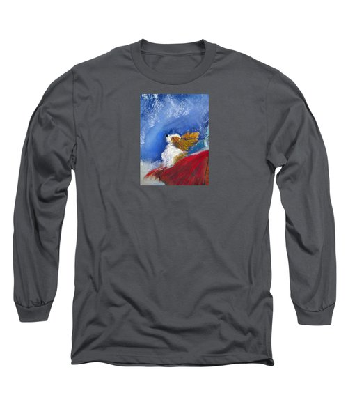 Moonstruck Long Sleeve T-Shirt by Loretta Luglio