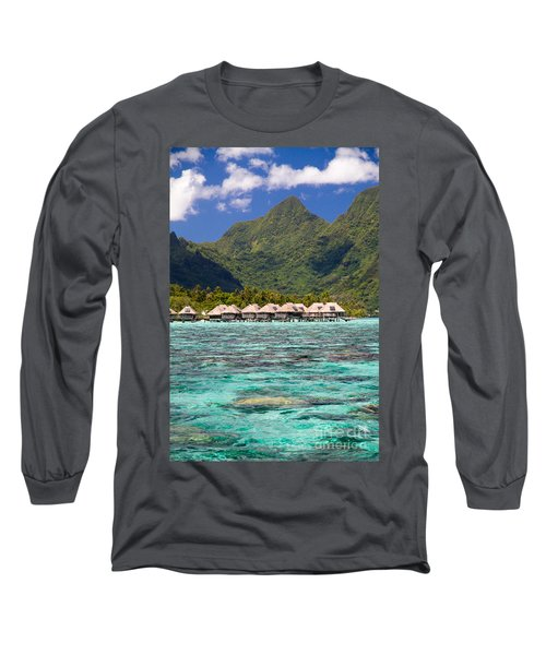 Moorea Lagoon No 3 Long Sleeve T-Shirt