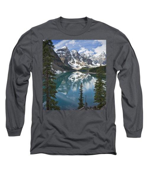 Moraine Lake Overlook Long Sleeve T-Shirt