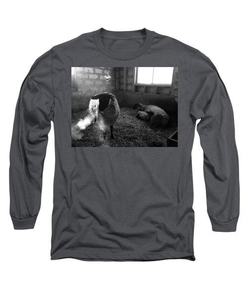 Morning Breath 1 Long Sleeve T-Shirt