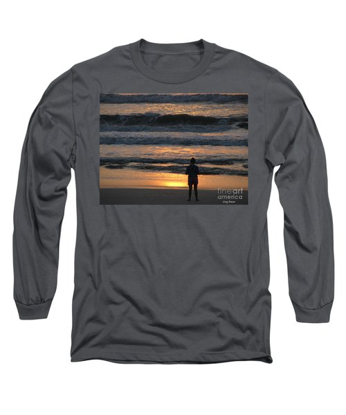Long Sleeve T-Shirt featuring the photograph Morning Has Broken by Greg Patzer
