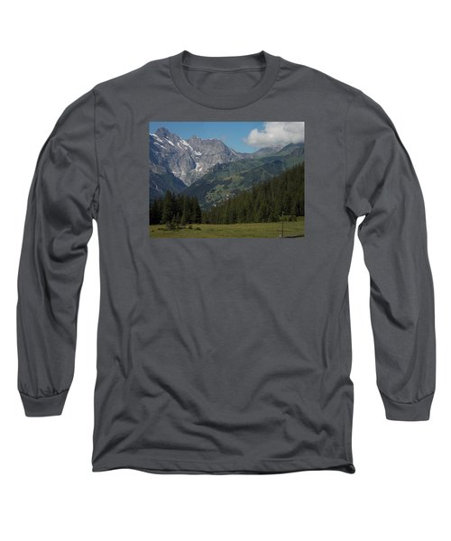Morning In The Alps Long Sleeve T-Shirt