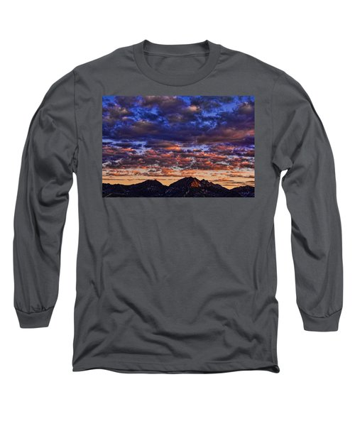 Morning In The Mountains Long Sleeve T-Shirt