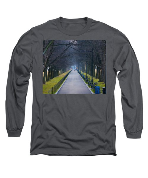Morning In Washington D.c. Long Sleeve T-Shirt
