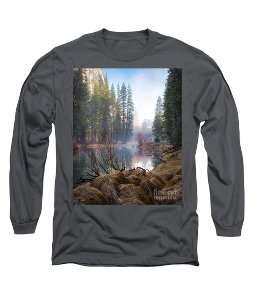 Morning On The Merced Long Sleeve T-Shirt