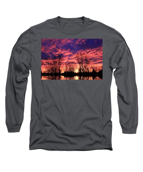 Morning Reflection Long Sleeve T-Shirt