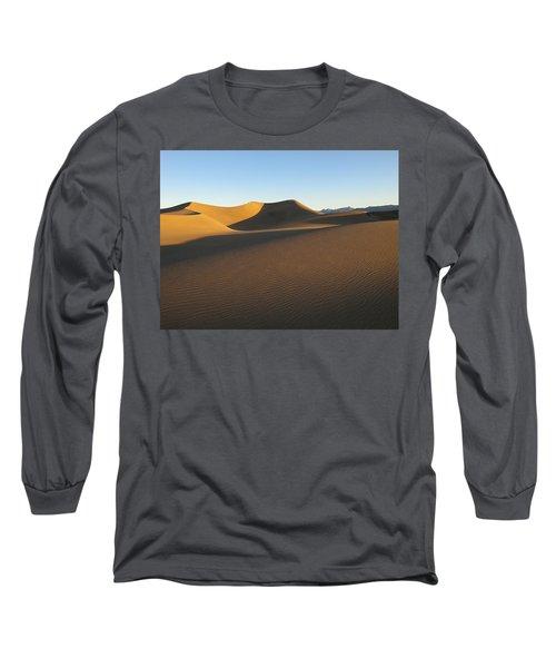 Morning Shadows Long Sleeve T-Shirt by Joe Schofield