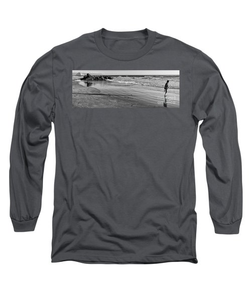 Morro Beach Walk Long Sleeve T-Shirt