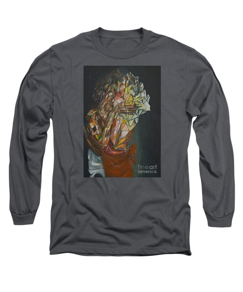 Mosaic Embrace Long Sleeve T-Shirt