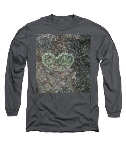 Moss Heart  Long Sleeve T-Shirt