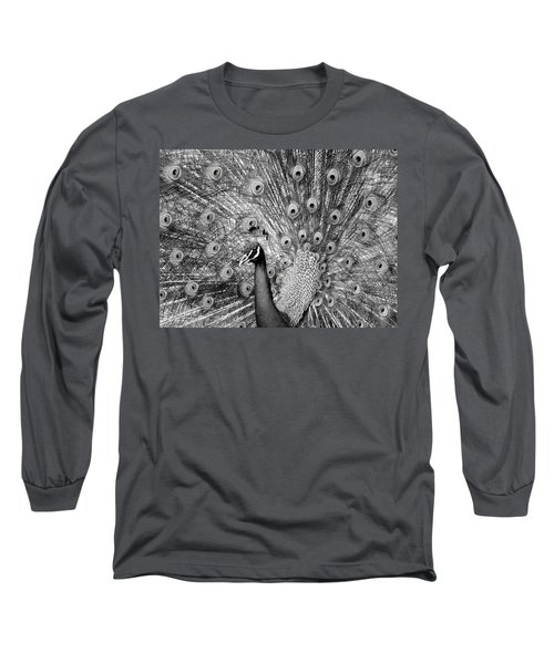 Mother Natures Fireworks Long Sleeve T-Shirt