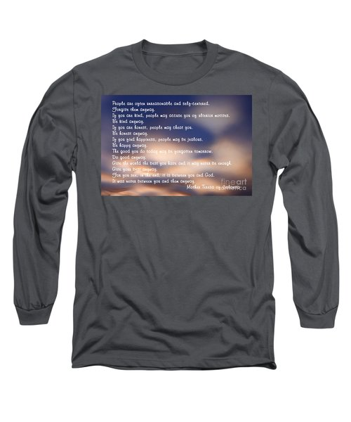 Mother Teresa Of Calcutta Long Sleeve T-Shirt