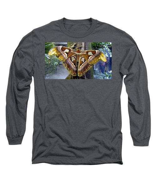 Atlas Moth Long Sleeve T-Shirt