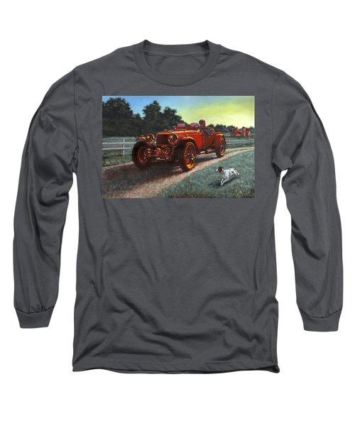 Motor Car Long Sleeve T-Shirt