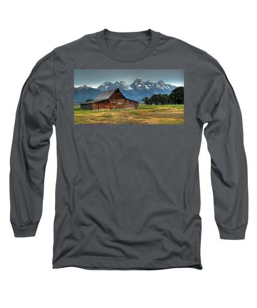 Moulton Barn Morning Long Sleeve T-Shirt