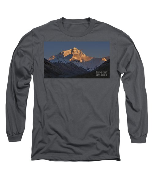 Mount Everest At Dusk Long Sleeve T-Shirt