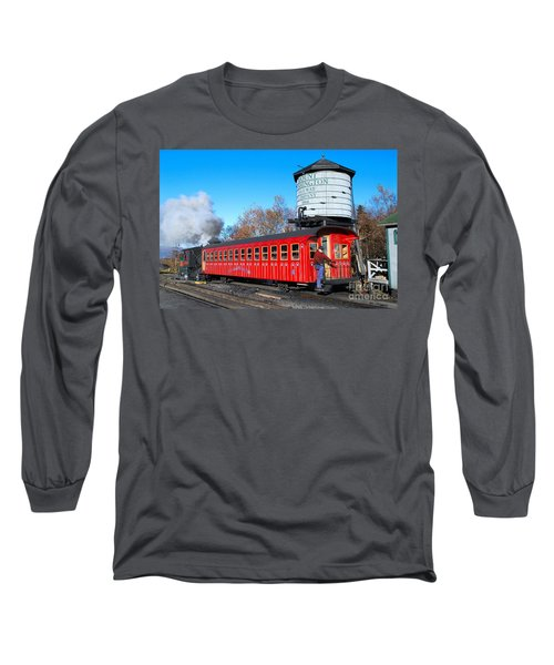 Mount Washington Cog Railway Car 6 Long Sleeve T-Shirt