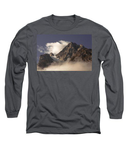Mountain Clouds Long Sleeve T-Shirt