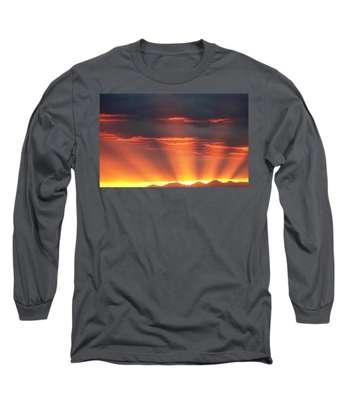 Mountain Rays Long Sleeve T-Shirt