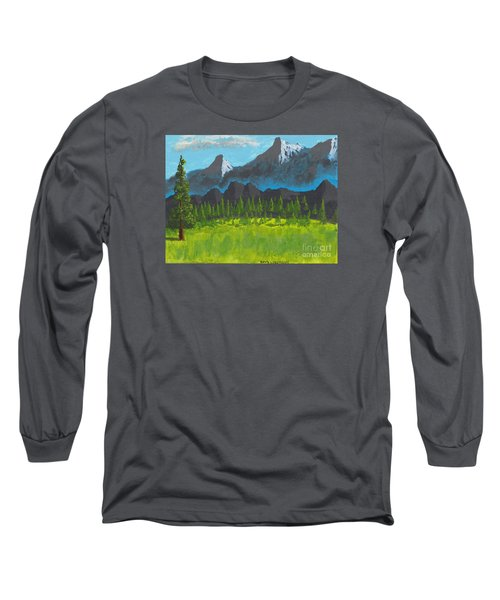 Mountain Vista Long Sleeve T-Shirt by David Jackson