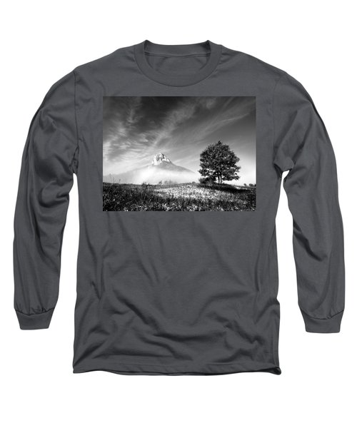 Mountain Zir Long Sleeve T-Shirt by Davorin Mance