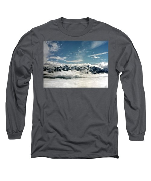 Long Sleeve T-Shirt featuring the photograph Mt Olympus by Greg Reed