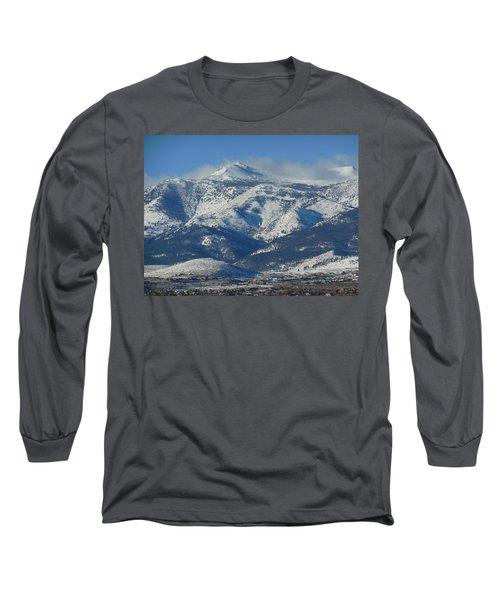 Mt Rose Reno Nevada Long Sleeve T-Shirt