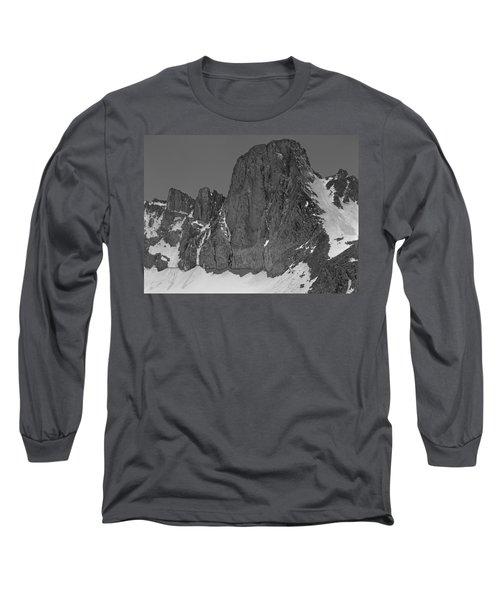 406427-mt. Sill, Bw Long Sleeve T-Shirt