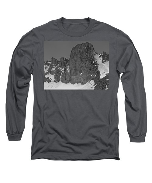 406427-mt. Sill, Bw Long Sleeve T-Shirt