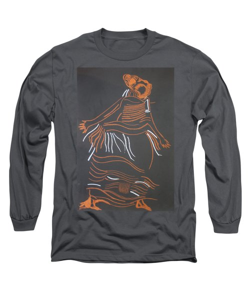 Muganda Lady - Uganda Long Sleeve T-Shirt