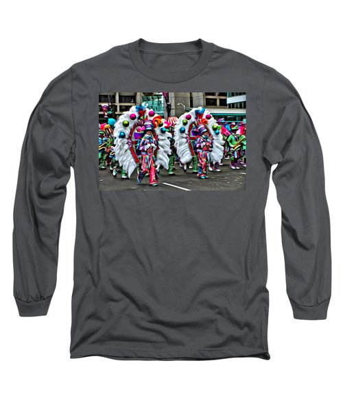 Mummer Color Long Sleeve T-Shirt