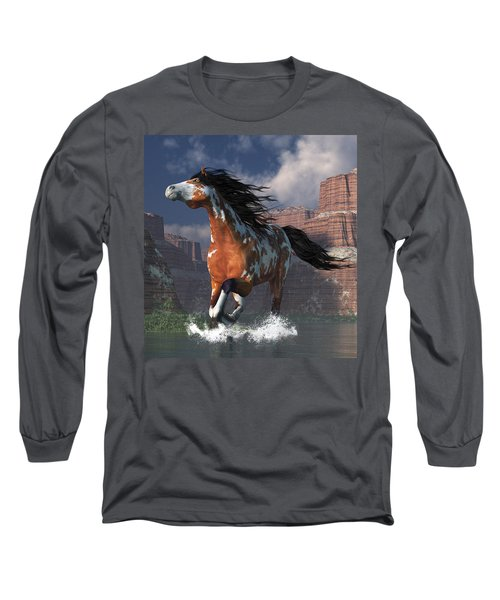 Mustang Canyon Long Sleeve T-Shirt