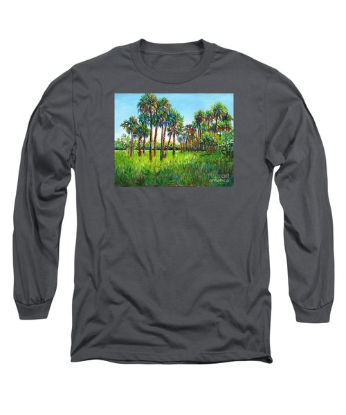 Myakka Palms Long Sleeve T-Shirt