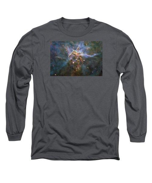 Mystic Mountain Long Sleeve T-Shirt by Nasa
