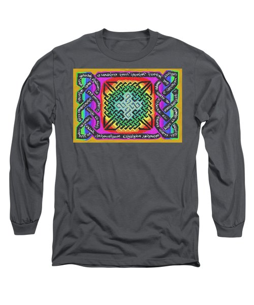 Names Of Yhwh Long Sleeve T-Shirt