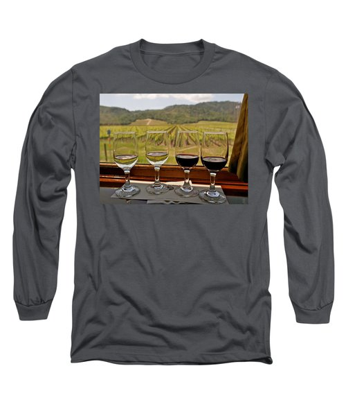 Napa Valley Wine Train Delights Long Sleeve T-Shirt