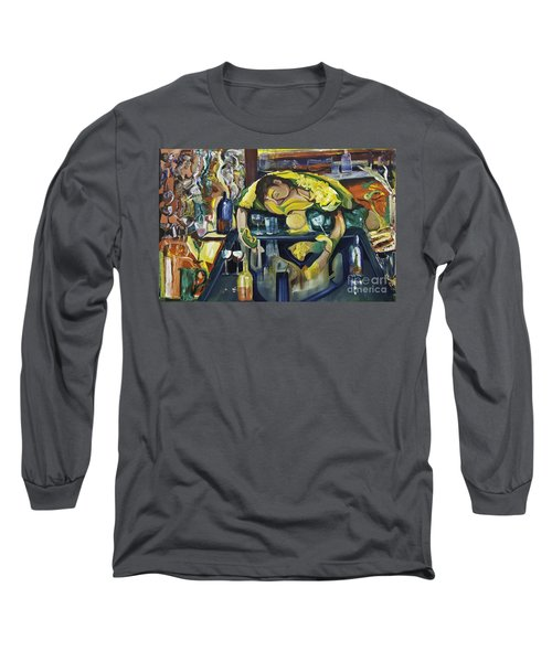 Narcisisstic Wine Bar Experience - After Caravaggio Long Sleeve T-Shirt