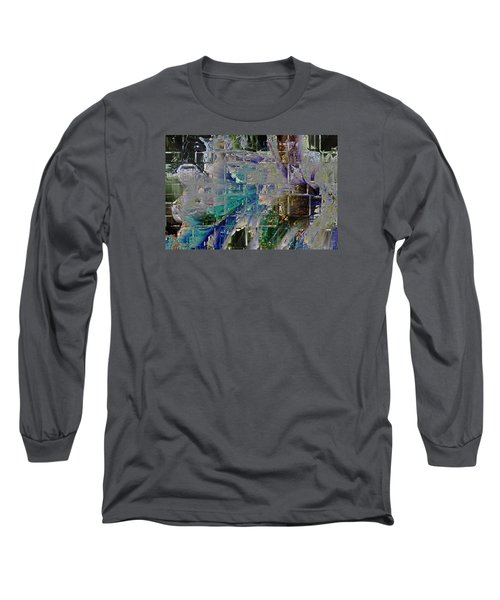 Narrative Splash Long Sleeve T-Shirt by Richard Thomas